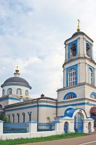 Тихвинский храм с. Душоново